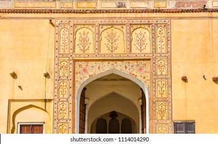 A gateway at Amber Fort  in Rajasthan, India.