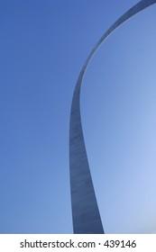 Gateway Arch in St. Louis (evening)