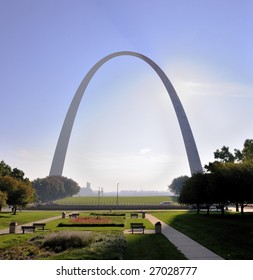 Gateway Arch in St. Louis, Missouri