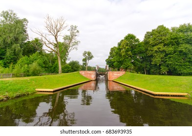 Gateway Dombrovka, Augustow Canal, Belarus