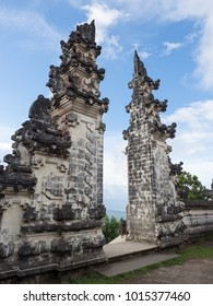 The Gateway to Heaven at Pura Luhur or Lempuyang Temple in Bali, Indonesia