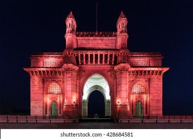 The Gateway of India in Mumbai, India