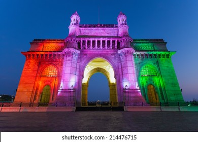 Gateway of India in Mumbai city in India