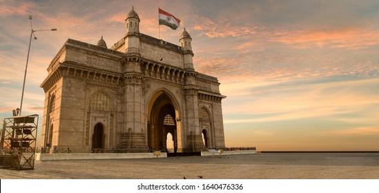Gateway of India, Mumbai, Maharashtra, India, mumbai famous landmark