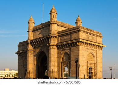 Gateway to India in Warm afternoon light, Mumbai.