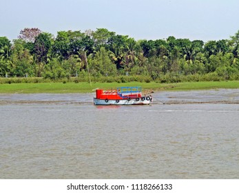 gateway to Sundarbans and mangrove woods near Mongla