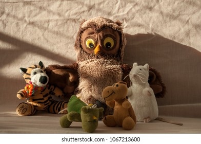 A gathering of toys