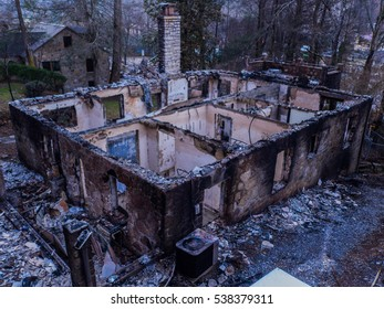 Gatlinburg Fire Damage