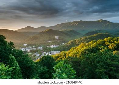Gatlinburg Tennessee Great Smoky Mountains Sunrise Scenic