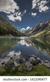 Gaube Lake  is a lake in the French Pyrenees