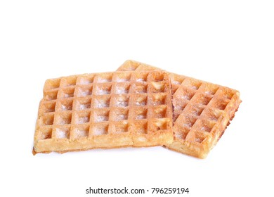 gaufre isolated on white background
