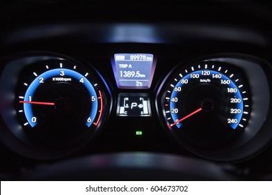gauge, dashboard, instrument panel