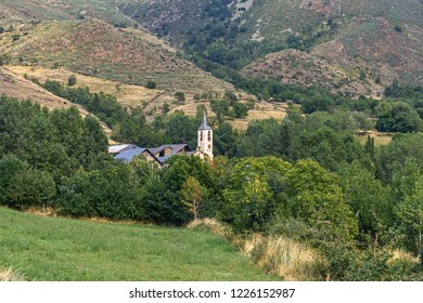 Gavas, a Small Village in the Catalan Pyrenees