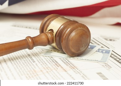 Gavel and Immigration Documents