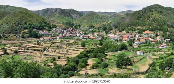 Gavieira village, Peneda Geres national park, northern Portugal
