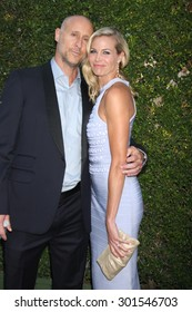 Gavin O'ConnorLOS ANGELES - JUL 29:  Gavin O'Connor, Brooke Burns at the Hallmark 2015 TCA Summer Press Tour Party at the Private Residence on July 29, 2015 in Beverly Hills, CA