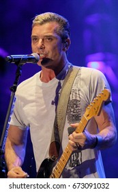 "Gavin Rossdale and the band ""Bush"" perform on day 2 of the 2017 Temecula Valley Wine and Balloon Festival on June 3, 2017 at the Lake Skinner Recreation Area in Temecula, CA."