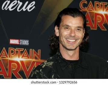 Gavin Rossdale at the World premiere of 'Captain Marvel' held at the El Capitan Theater in Hollywood, USA on March 4, 2019.