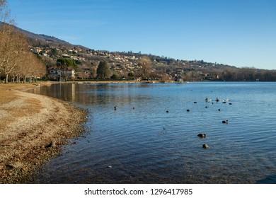 Gavirate on Lake Varese, Italy