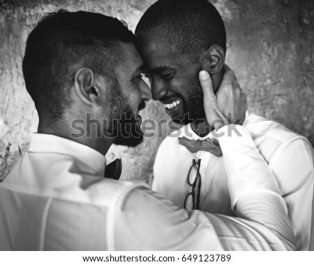 Just one free black on white gay