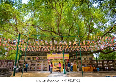 GaYA,INDIA - 23 May 2016 - Bodh Gaya is the most holy place for the followers of the Buddhist faith all over the world.It is the place where Gautama Buddha is said to have obtained Enlightenment.
