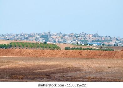 Gaza strip region