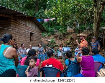 Gazacapan Guatemala 11/25/2018 meeting in small village in Guatemala