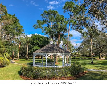 gazebo in the park
