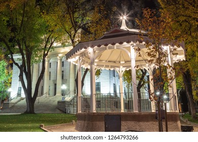 Gazebo at Yavapai County Courthouse in Prescott Arizona