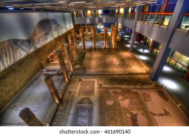 GAZIANTEP - TURKEY / 05.07.2016: Zeugma Museum is the world's number one mosaic museum