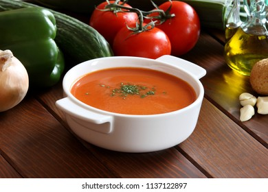 Gazpacho Tomato Soup and Drink