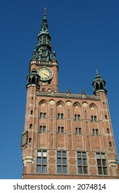 Gdansk, old city,town hall