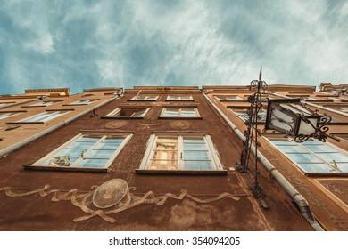 Gdansk old streets of Europe