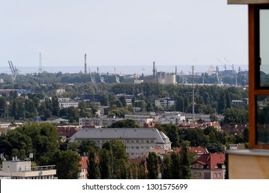 Gdansk, Poland - September 09, 2018: City panorama