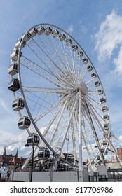 Gdansk,Poland - March 21,2017 : Gdansk Ferris wheel