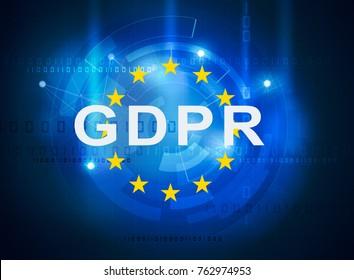 GDPR general data protection regulation.