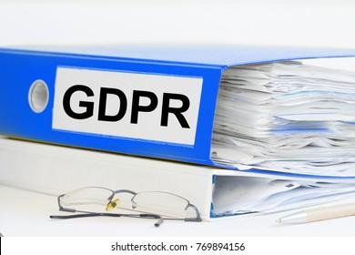 GDPR ring binder