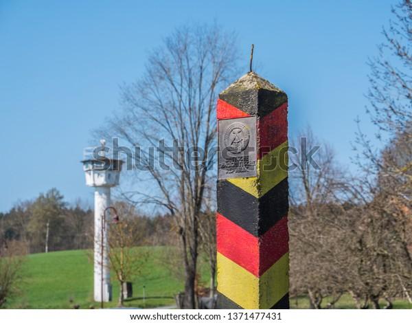 DDR-Grenze Ostdeutschland
