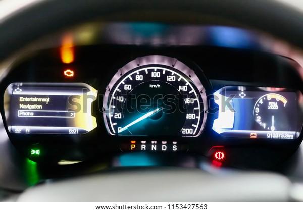 Gear Indicator Car Stock Photo (Edit Now) 1153427563