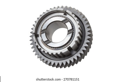 gear on a white background