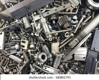 gear and screw for machine