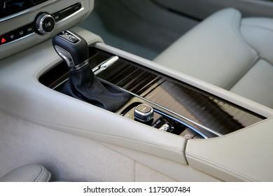 gear shift, car interior