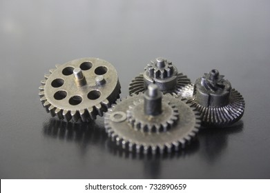 Gears for the mechanical drive. Set of gears