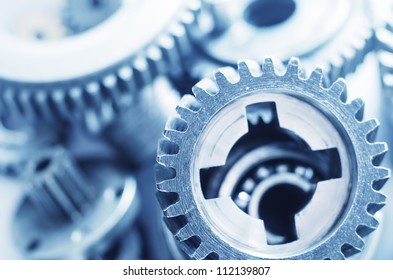 gears,nuts and bolts