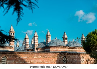 GEBZE - KOCAELI, TURKEY, November 2018, The Coban Mustafa Pasha Complex is an Ottoman complex built by Mimar Sinan in the 16th century in the Gebze district of Kocaeli.