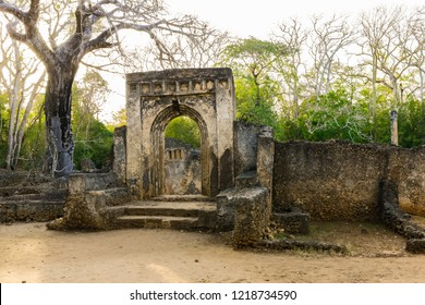 Gede ruins are the remains of a Swahili town located in Gedi, a village near the coastal town of Malindi, Kenya.