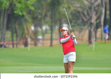In Gee Chun of Republic of Korea in Honda LPGA Thailand 2018 at Siam Country Club, Old Course on February 25, 2018 in Pattaya Chonburi, Thailand.