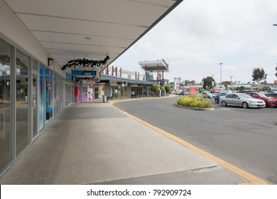 Geelong, Australia - December 26, 2017: Waurn Ponds Shopping Center, a major regional shopping centre servicing the southern suburbs of the city of Geelong. Good shopping place for Deakin Students.