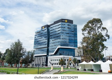 Geelong, Australia - October 14, 2018: Geelong offices of Worksafe Victoria, also known as the Victorian Workcover Authority.