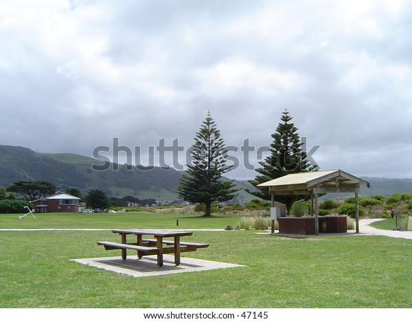 Geelong beach side park